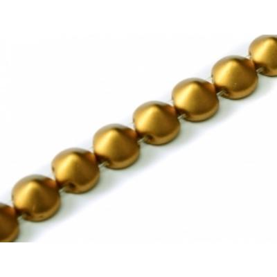 Tipp gyöngy Metál sárgaréz 29415  5 db