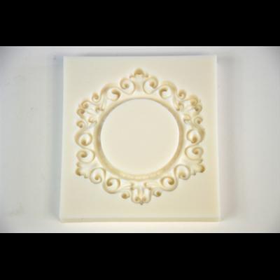 Marcipán/fondant mintázó ornamentikus kerek