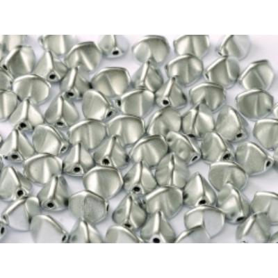 Pinch gyöngy 5*3 mm Aluminium ezüst 01700 5 g