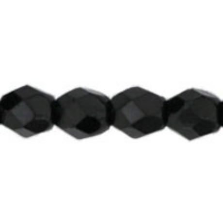 Csiszolt gyöngy 3 mm FP1-03-23980 Fekete 100 db