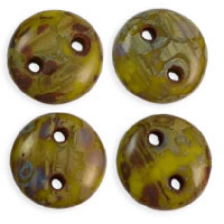 Lentil, T84020 Sárgás-zöld picasso, 50 db