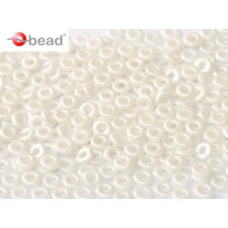 O gyöngy 02010 - 25001 - Alabástrom pasztel fehér 5 g