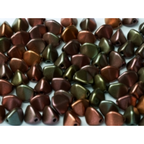 Pinch 7 mm 01640 - Bíbor irizáló arany 5 g