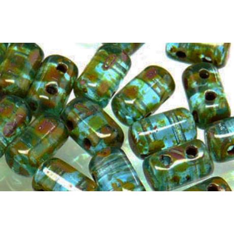 Rulla, T60020 Aquamarine picasso 5 g