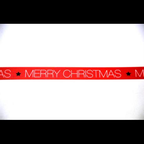 Dekorszalag merry christmas 2. 15 mm * 10 m