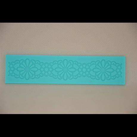 Marcipán/fondant mintázó 21*5 cm margaréta