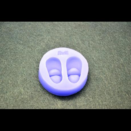 Marcipán/fondant mintázó, szilikon, cipőcske