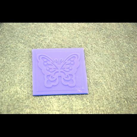 Marcipán/fondant mintázó, szilikon, lap pillangó