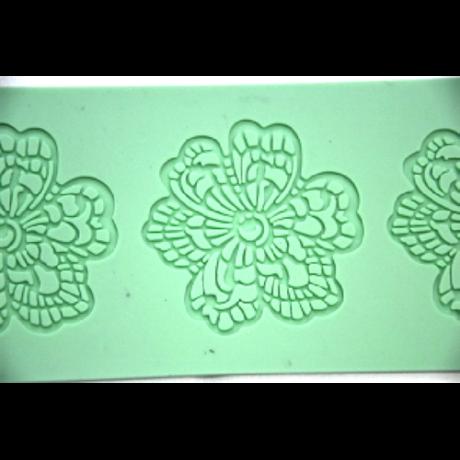 Szilikon lap virág mintázó 38*7,5 cm