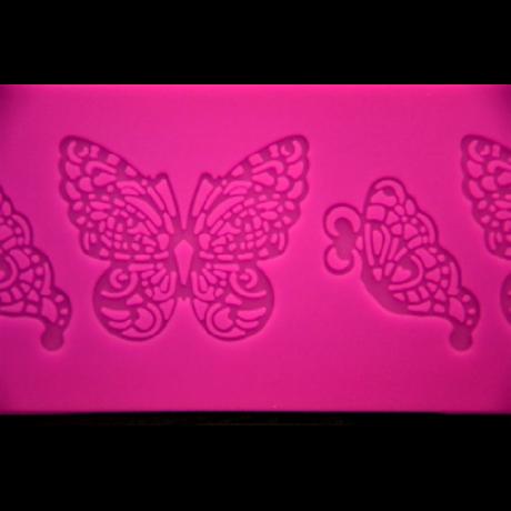 Szilikon lap pillangó