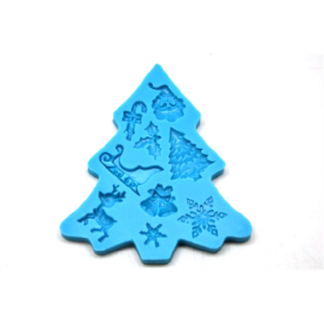 Marcipán/fondant mintázó karácsony