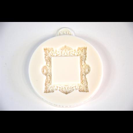 Marcipán/fondant mintázó ornamentikus keret