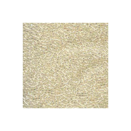Miyuki Delica 11/0, Ekrü kristály AB, 5 g