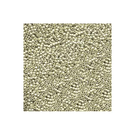 Miyuki Delica 11/0, Galvanizált fényes ezüst*, 5 g