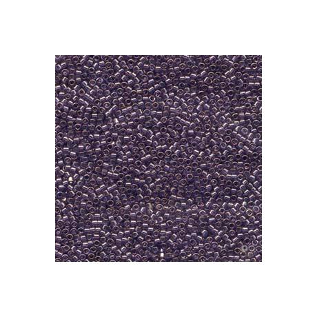 Miyuki Delica 11/0, Levendula kék arany lüszter, 5 g