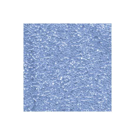 Miyuki Delica 11/0, Átlátszó azúr lüszter, 5 g