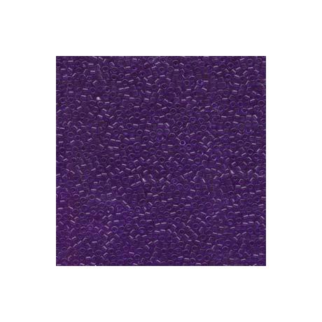 Miyuki Delica 11/0, Merítve festett átlátszó viola*, 5 g