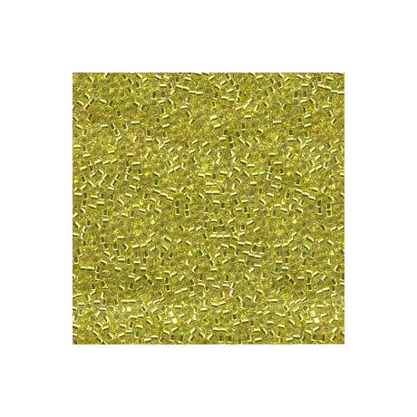 Miyuki Delica 11/0, Ezüstközepű sárga, 5 g