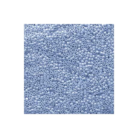 Miyuki Delica 11/0, Opak kék agáta lüszter, 5 g