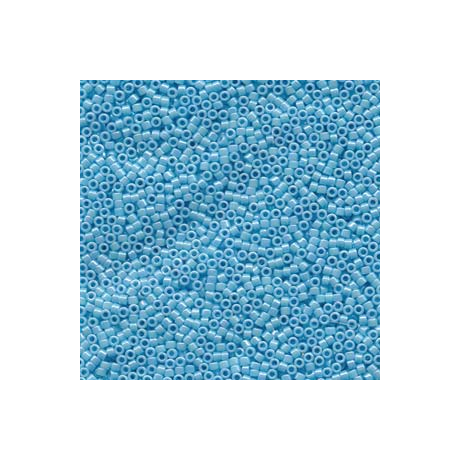 Miyuki Delica 11/0, Opak világos kék AB, 5 g