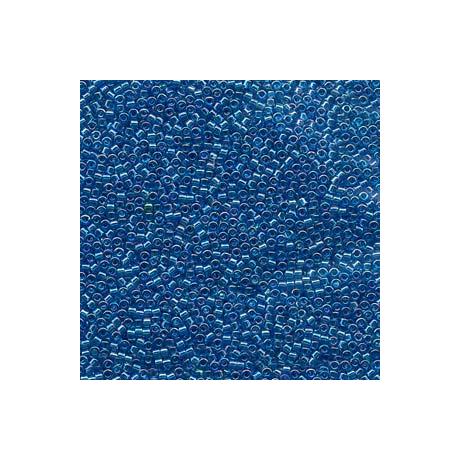 Miyuki Delica 11/0, Átlátszó aquamarin AB, 5 g