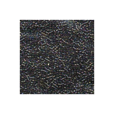 Miyuki Delica 11/0, Átlátszó bronz AB, 5 g