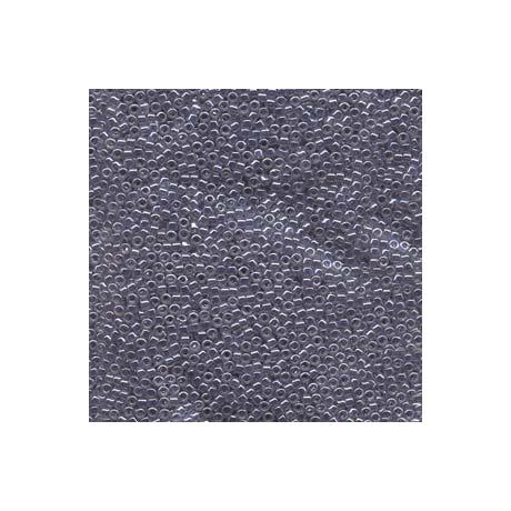 Miyuki Delica 11/0, Szürke közepű kristály lüszter, 5 g