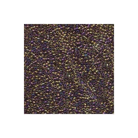 Miyuki Delica 11/0, Metál bíbor/arany irizáló, 5 g