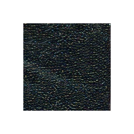 Miyuki Delica 11/0, Zöld irizáló, 5 g