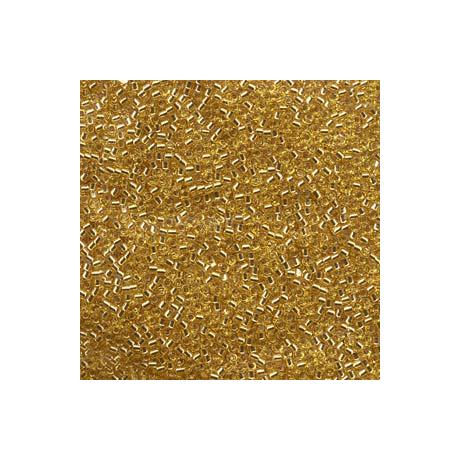 Miyuki Delica 11/0, Ezüst közepű arany arany, 5 g