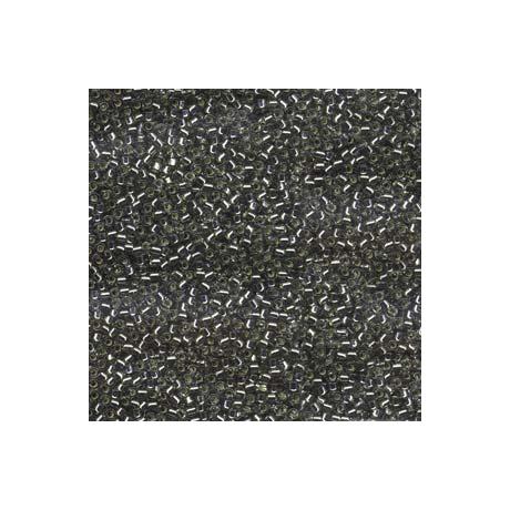 Miyuki Delica 11/0, Ezüst közepű szürke, 5 g