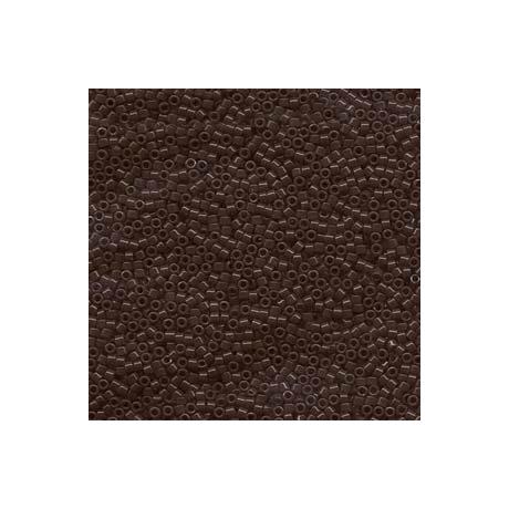 Miyuki Delica 11/0, Opak csokoládé barna, 5 g