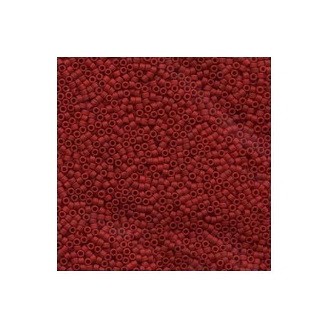 Miyuki Delica 11/0, Merítve festett matt opak gesztenye*, 5 g