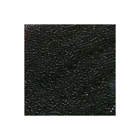 Miyuki Delica 15/0, Fekete, 2,5 g