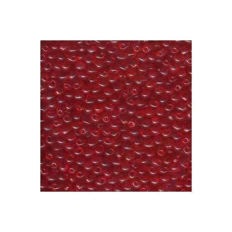 Miyuki Drop 3,4 mm   DP-9140  Átlátszó piros  5g