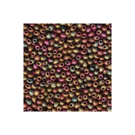 Miyuki Drop 3,4 mm   DP-92035  Matt metál khaki irizáló  5g