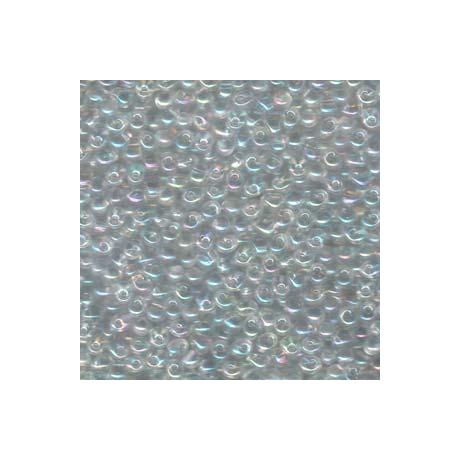 Miyuki Drop 3,4 mm   DP-9250  Átlátszó kristály AB  5g