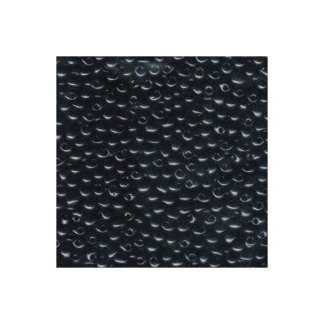 Miyuki Drop 3,4 mm   DP-9401  Opak fekete  5g