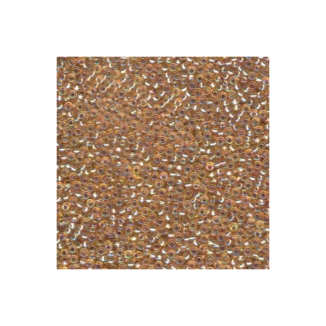Miyuki kásagyöngy 11/0  11-91003  Ezüstközepű arany AB  5g