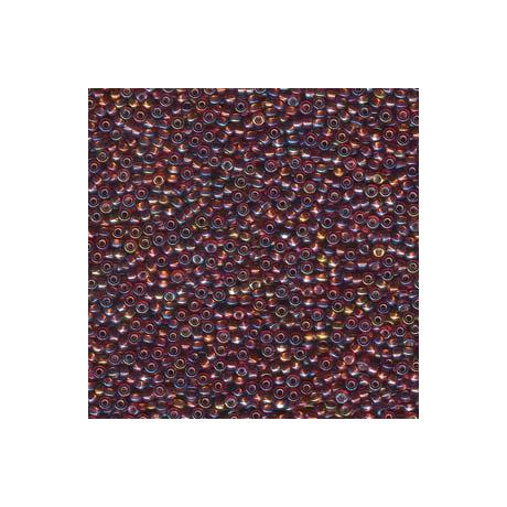 Miyuki kásagyöngy 11/0  11-91005  Ezüstközepű sötét topáz AB  5g