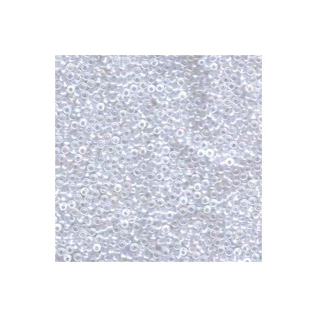 Miyuki kásagyöngy 11/0  11-9131SFR  Félmatt kristály AB  5g