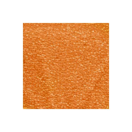 Miyuki kásagyöngy 11/0  11-9138  Átlátszó narancs  5g