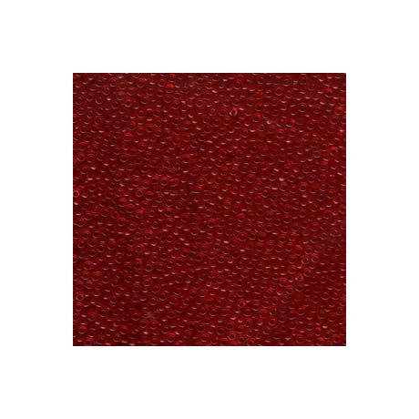 Miyuki kásagyöngy 11/0  11-9141  Átlátszó piros  5g