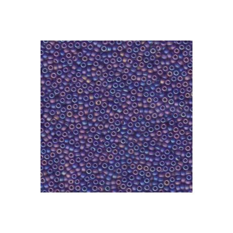 Miyuki kásagyöngy 11/0  11-9151FR  Matt átlátszó kobaltkék AB  5g