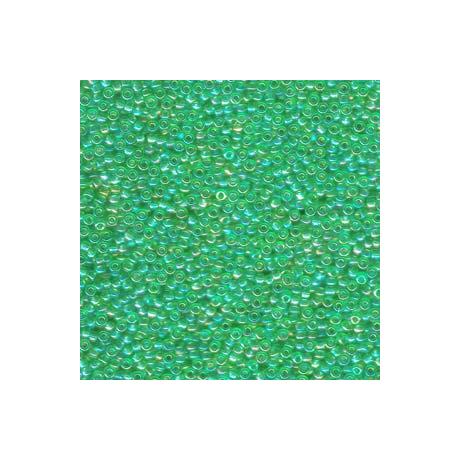 Miyuki kásagyöngy 11/0  11-9179L  Átlátszó  világos zöld AB  5g