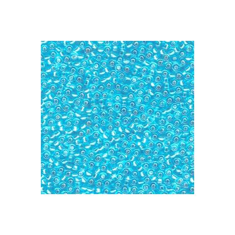 Miyuki kásagyöngy 11/0  11-918  Ezüst közepű világos kék  5g