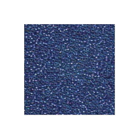 Miyuki kásagyöngy 11/0  11-91827  Csillogó bíbor közepű aqua lüszter  5g