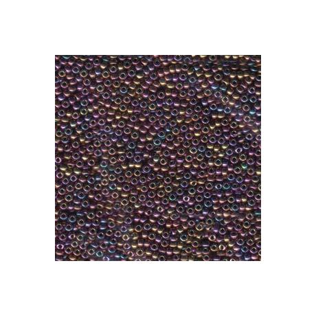 Miyuki kásagyöngy 11/0  11-9188  Metál bíbor arany irizáló  2,5g