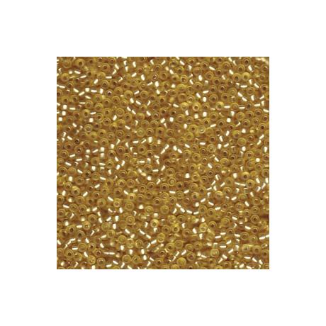 Miyuki kásagyöngy 11/0  11-91902  Félmatt ezüstközepű arany  5g