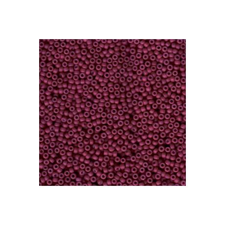 Miyuki kásagyöngy 11/0  11-92047  Merítve festett vörösbor*  5g